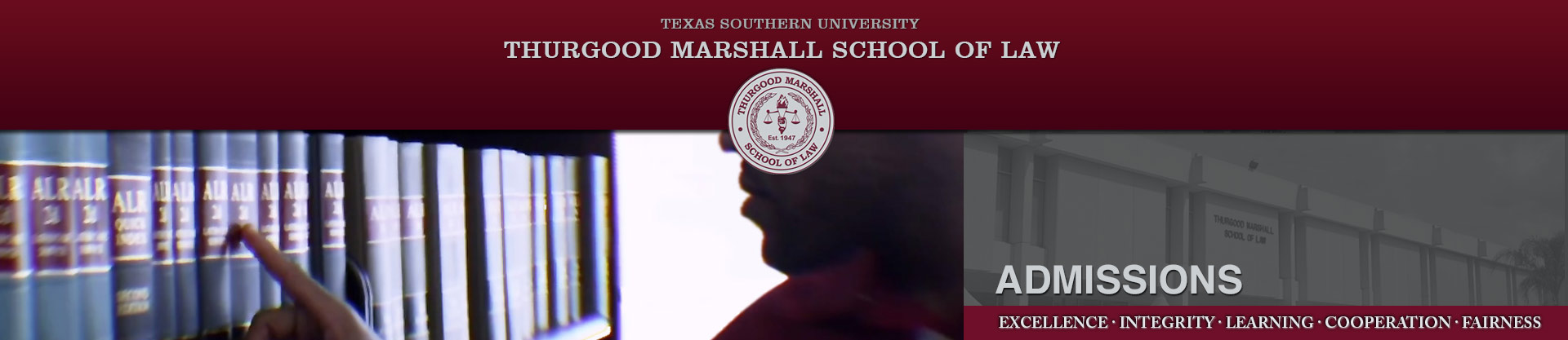 academics at thurgood marshall school of law in houston texas dannnye k holley dean and professor of law